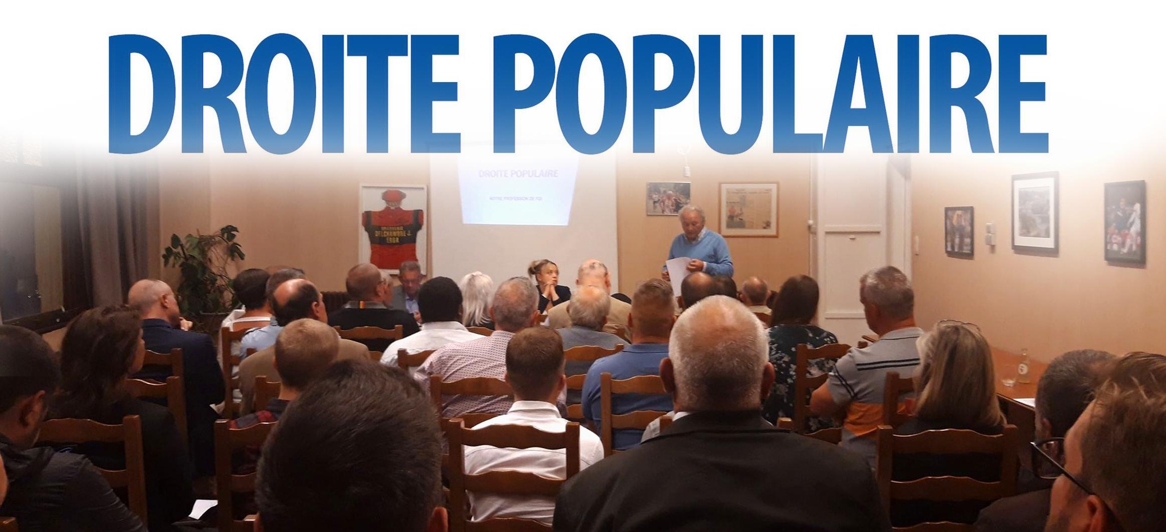 La DROITE POPULAIRE