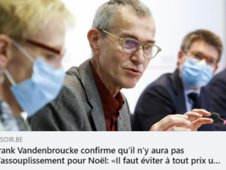 Alors que les citoyens belges viennent de découvrir l'incompétence crasse du Ministre de la Santé
