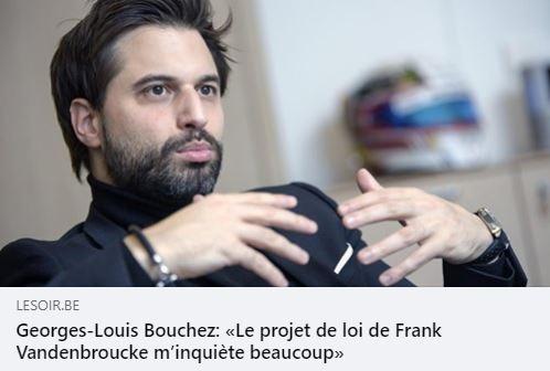 Georges-Louis Bouchez, Président du MR, aurait-il besoin une fois de plus qu'on lui rafraîchisse la mémoire?
