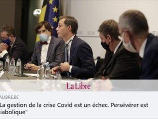 La gestion de la crise Covid est un échec. Persévérer est diabolique